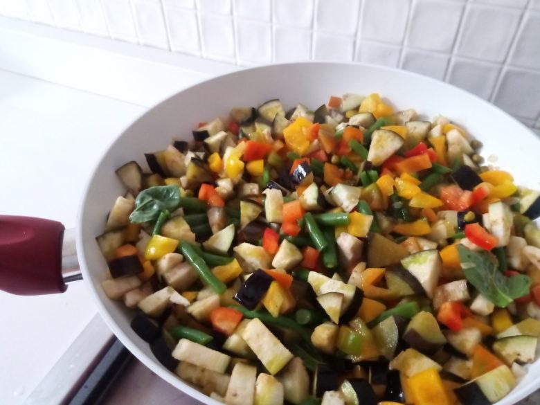 cottura verdure