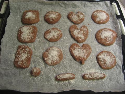 Biscotti cioccolato e cocco