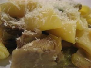 Pasta-con-carciofi