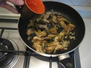 Penne zucchine e carciofi