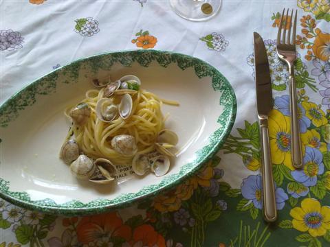Spaghetti con lupini