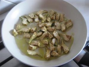 Frittata zucchine e carciofi