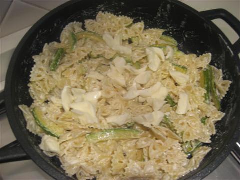 Pasta philadelphia e zucchine