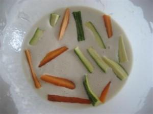 Verdure in pastella