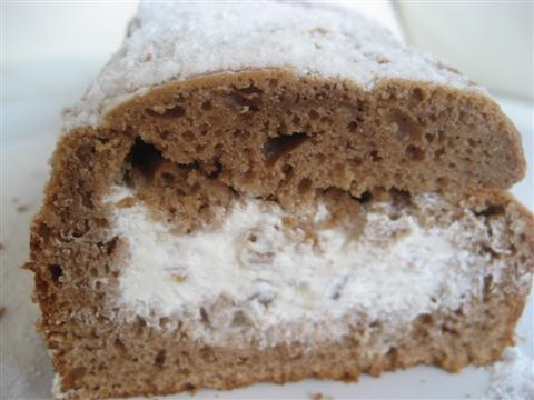 Plum cake al semifreddo