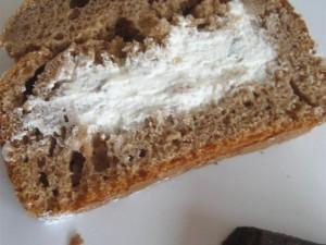 Presentazione plum cake al semifreddo