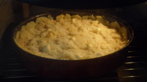 Cuocere a 180 gradi per circa 30 minuti, gli ultimi 5 minuti aumentare la temperatura a 210 gradi.