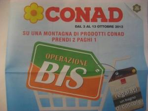 Volantino Conad 3 Ottore 2012