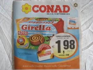 Volantino Conad 5 Settembre 2012