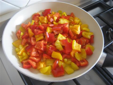 cuocere i peperoni