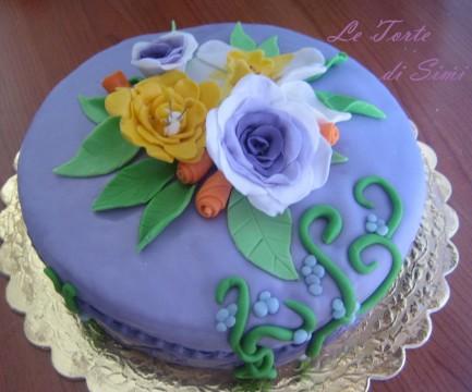 Torte Colorate con la pasta di zucchero