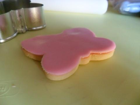 Ecco come si presenta adesso il biscotto: