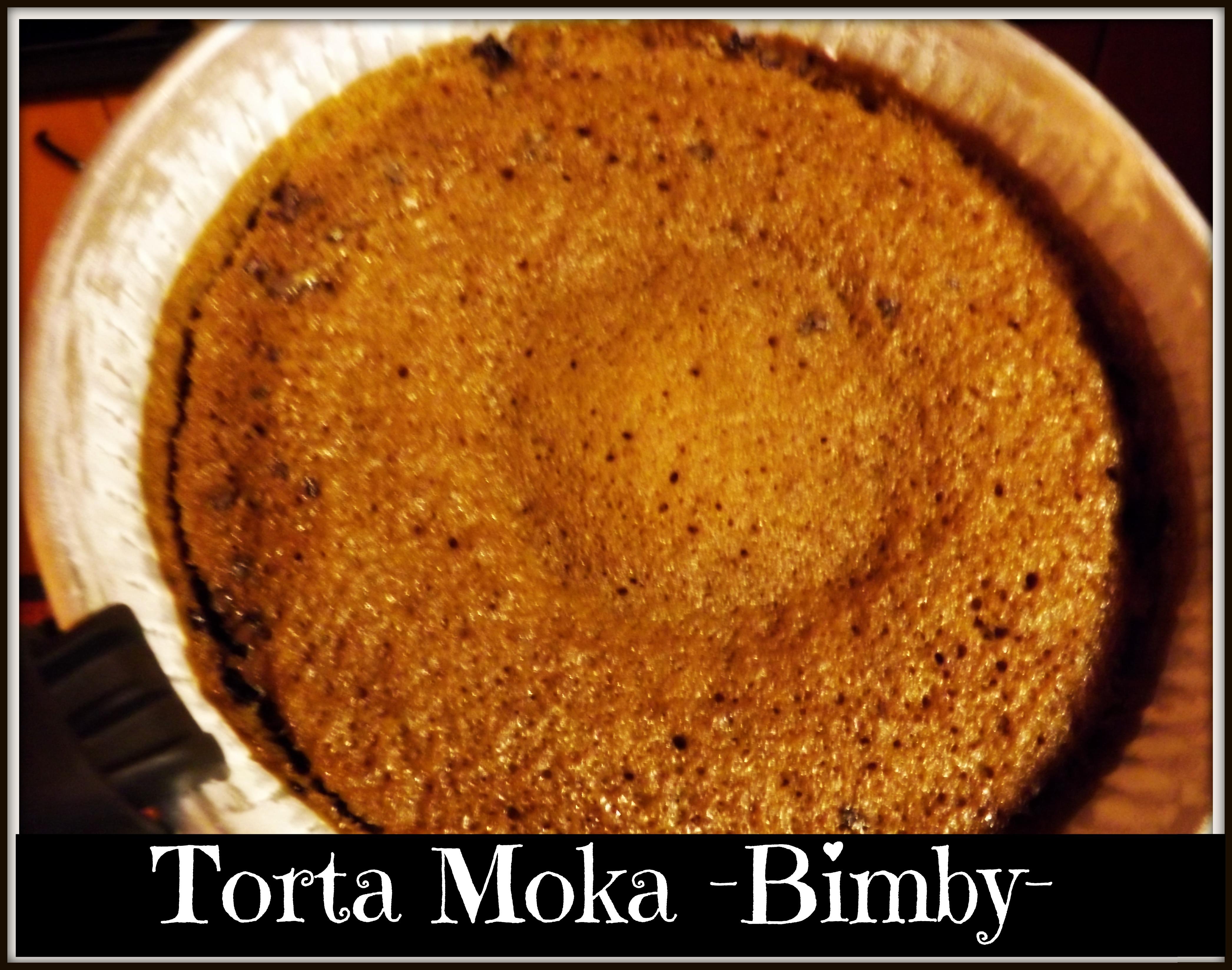 Torta Moka Sofficissima -Bimby- appena sfornata
