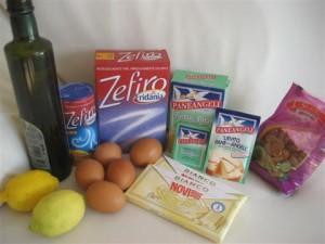Ingredienti caprese al limone