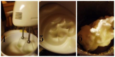 Procedimento per la Torta Moka Sofficissima -Bimby- passaggio 4-5-6