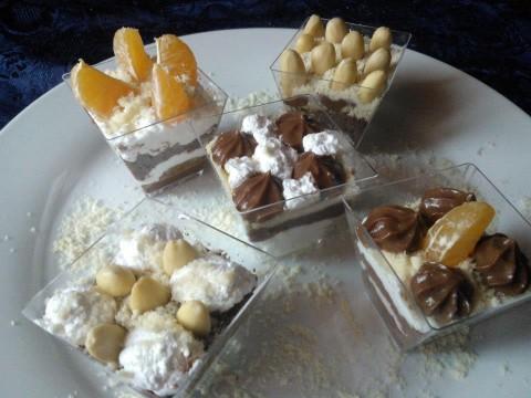 Presentazione semifreddo finger food