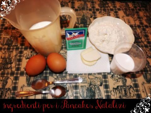 Ricetta pancakes Ingredienti