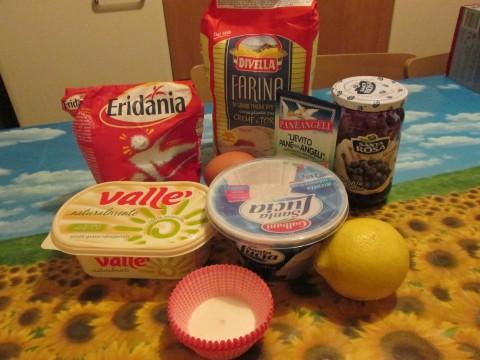 ingredienti per i bocconotti