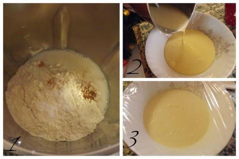 Ricetta pancakes i primi 3 passi