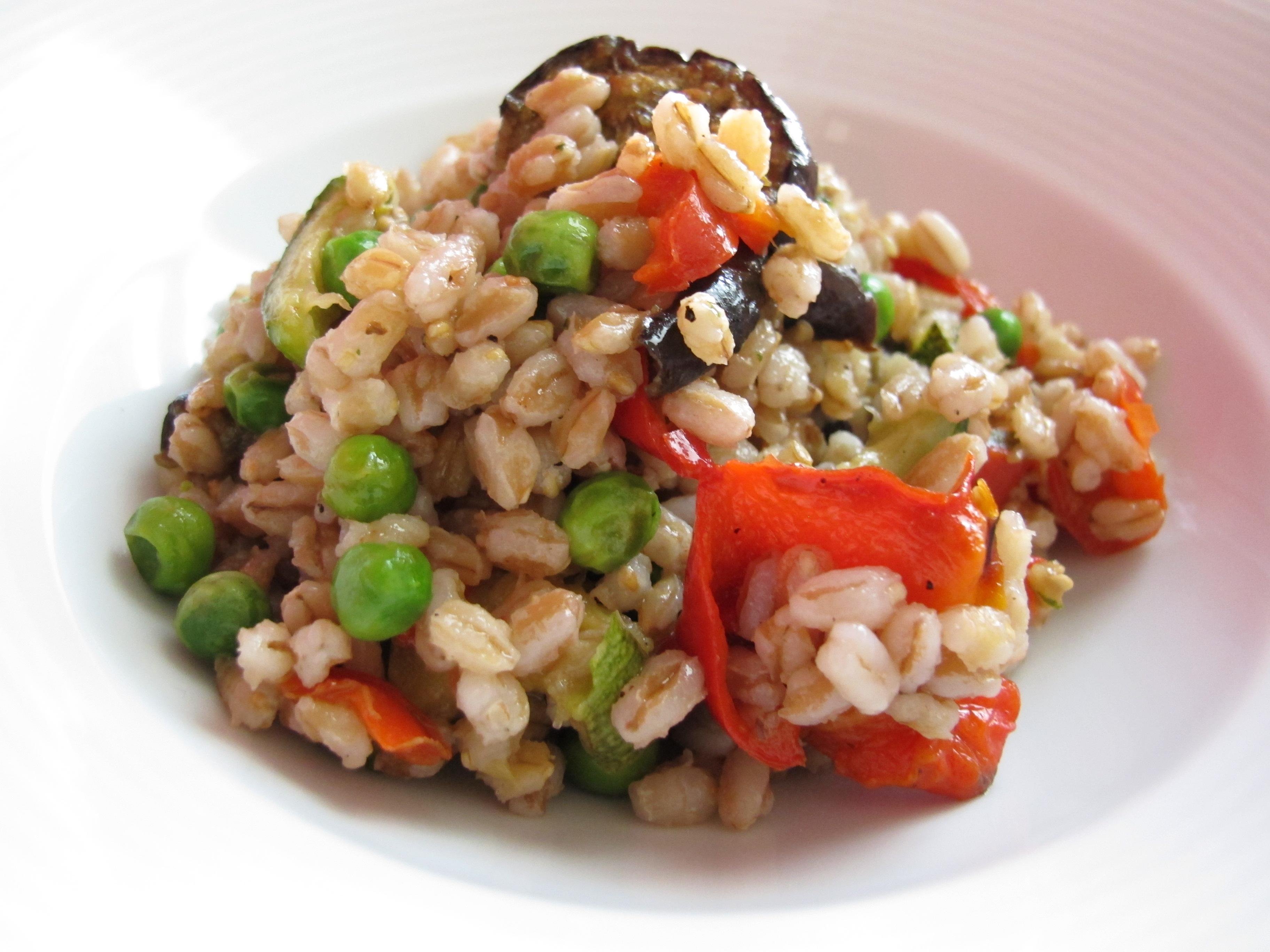 Orzo e Farro Vegetariani