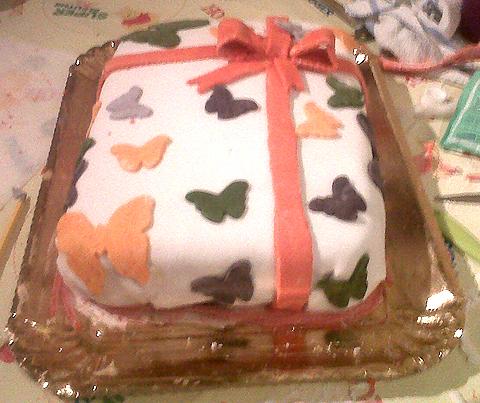 La torta di cinzia maria