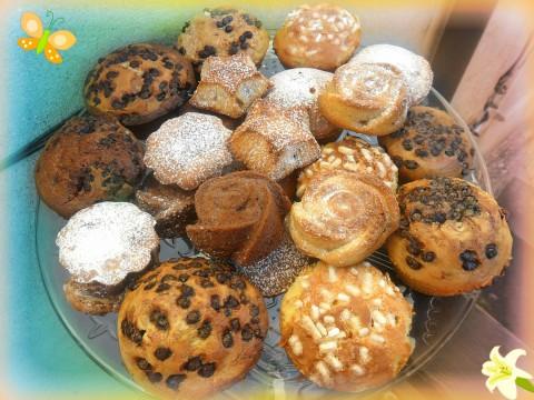 Un saluto a tutti ... mangiate uno di questi muffin e coccolatevi con un buon caffè :)