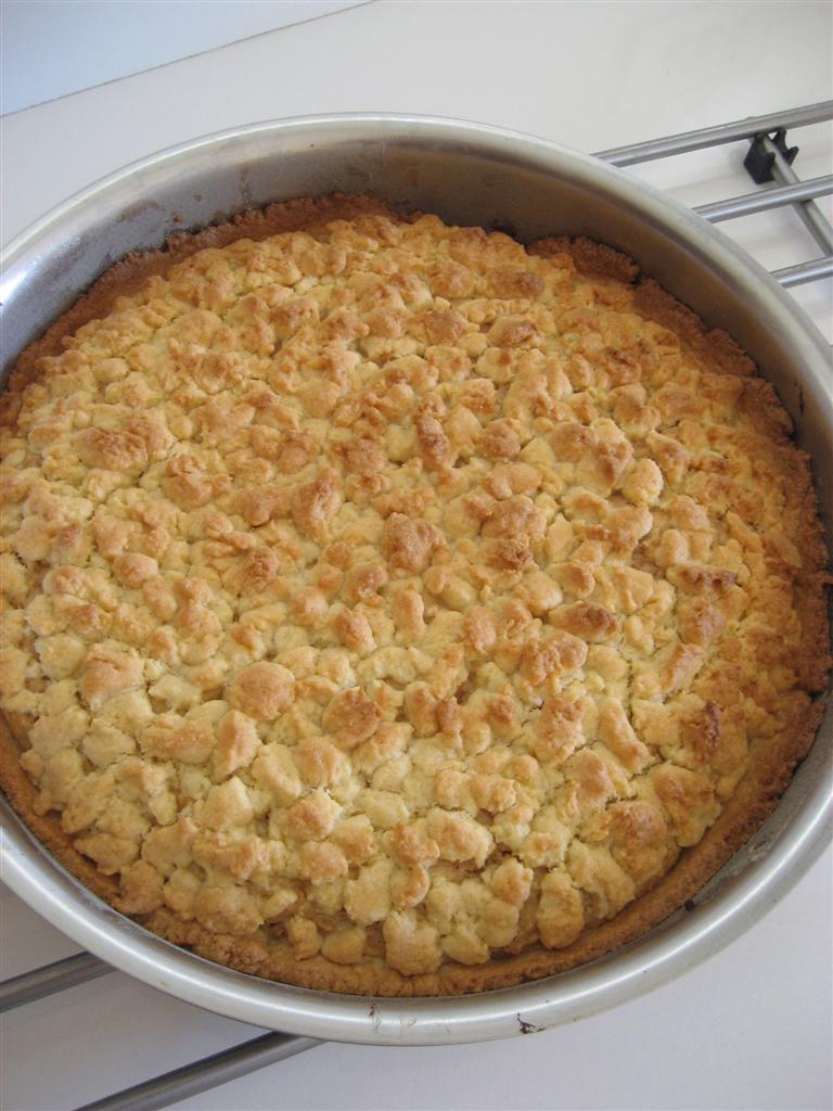 Cuocere la torta ricotta e amaretti in forno ventilato preriscladato a 180° per circa 35 - 40 minuti.
