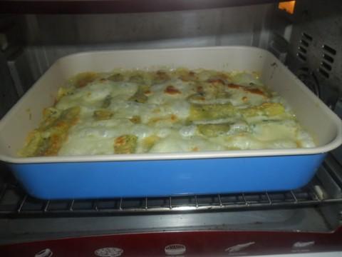 Infornare e cuocere per circa 30 minuti a 200°