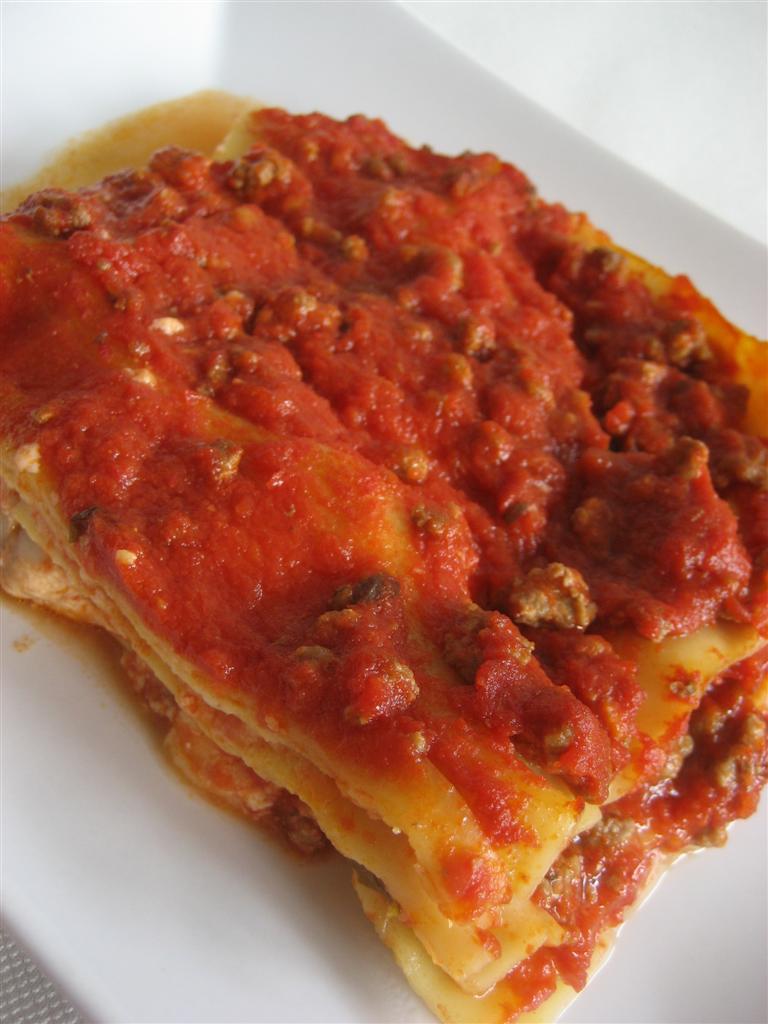Ricetta lasagna presentazione