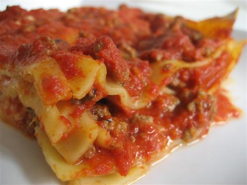 Ricetta lasagna pronta