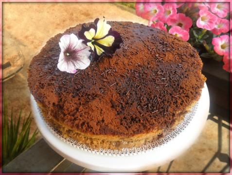 La nostra torta al caffè è pronta