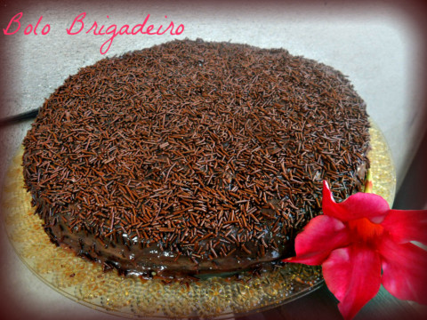 torta brigadeiro pronta