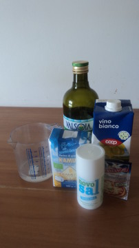 Taralli semplici ingredienti