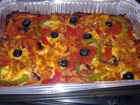 Pizza di Pane presentazione