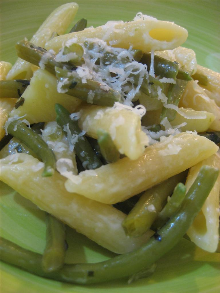 Pasta fagiolini e patate
