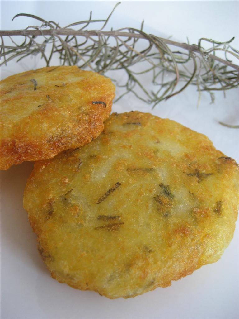 Rosti di patate presentazione
