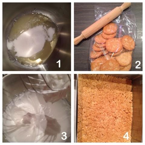 Preparare la base dei biscotti
