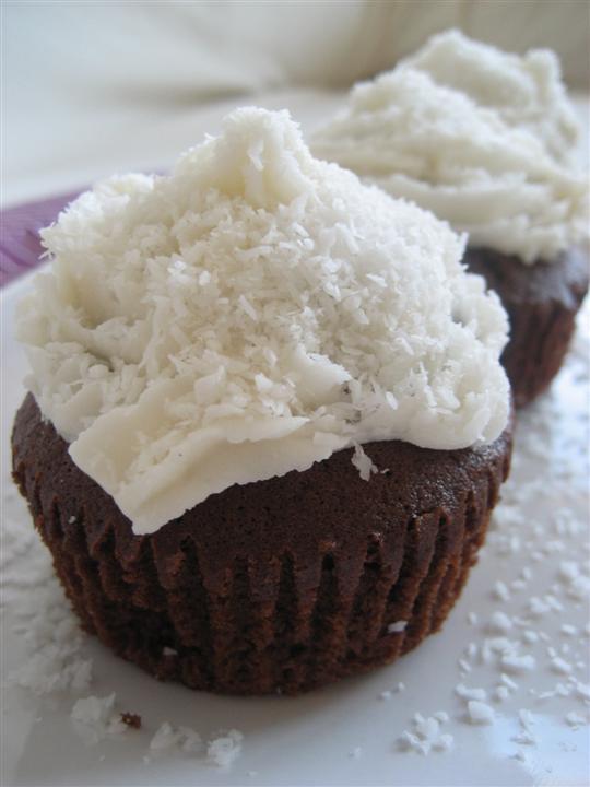 Cupcake al cioccolato presentazione