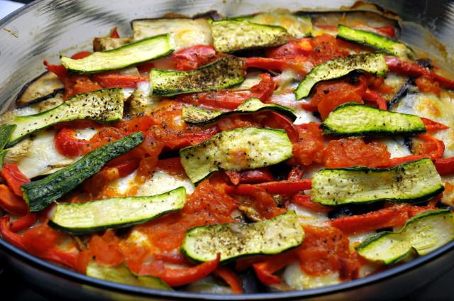 Tortino di verdure presentazione