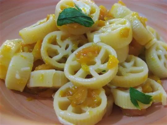 pasta con carote