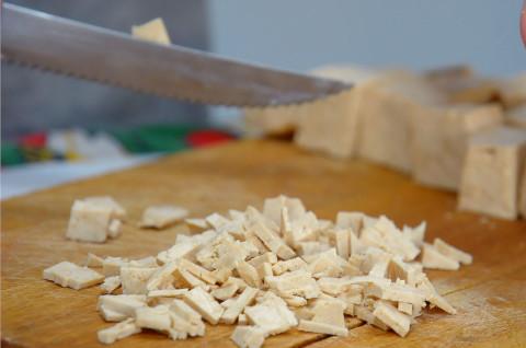 Tofu tritato