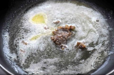 burro fuso e crema d'acciughe