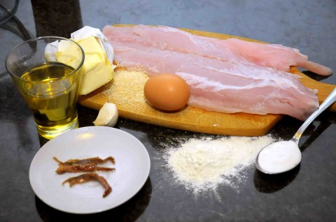 ingredienti del persico in teglia