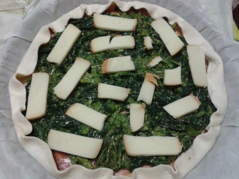completare con il formaggio