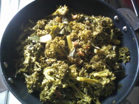 aggiungere i broccoli