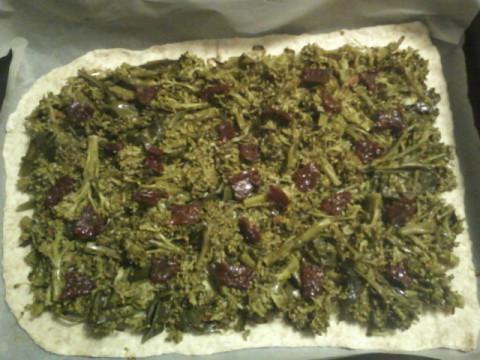 versare i broccoli
