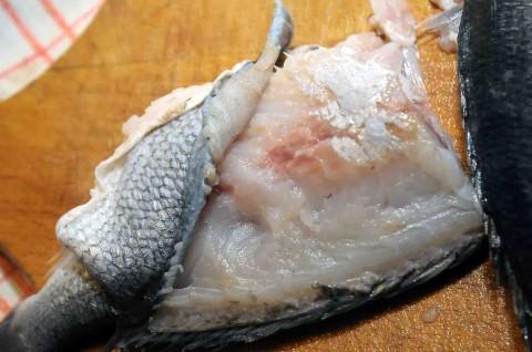 Desquamate il pesce