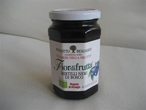 marmellata mirtilli neri di bosco