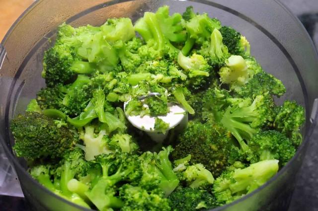 broccoli nel mixer