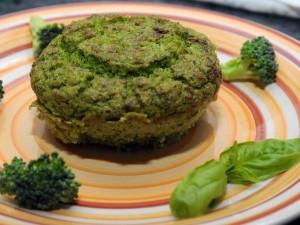 Flan di broccoli e pancetta